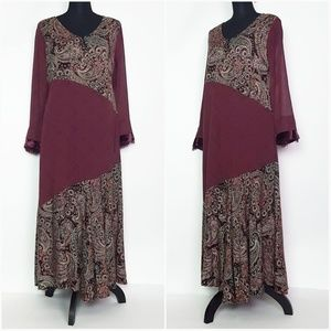 Soft Surroundings  Boho Maxi Dress